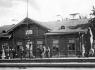 Железнодорожный вокзал в Печорах