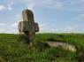 Изборск. Древний крест в деревне Малы