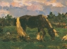 Л.Туржанский. Пейзаж с лошадкой. ХХ век