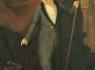 Неизвестный художник. Портрет мальчика с копьем. 1-я четверть XIX века.