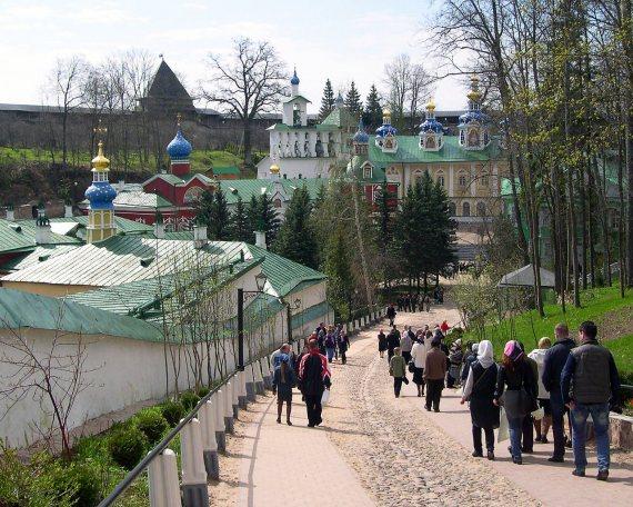 Псково-Печерский монастырь. Кровавый путь