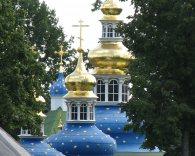 Псково-Печерский монастырь. Купола