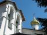 Псково-Печерский монастырь. Никольская церковь со звонницей