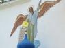 Большая звонница. Фигура ангела