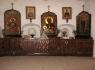 Псково-Печерский монастырь. Иконы в Никольской башне