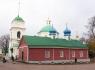 Печоры. Соборная площадь. Варваринская церковь