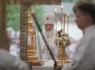 Патриарх Кирилл в Печорах