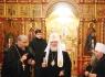 Патриарх Кирилл в Псково-Печерском монастыре