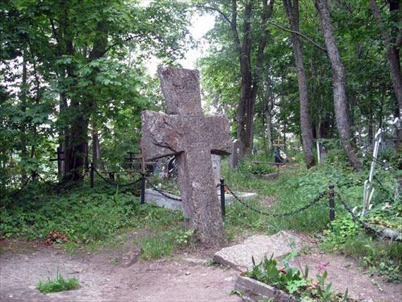 Крест Трувора в Изборске