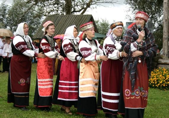 Национальный костюм сето