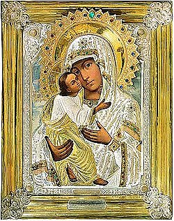 Икона Пресвятой Богородицы «Умиление»
