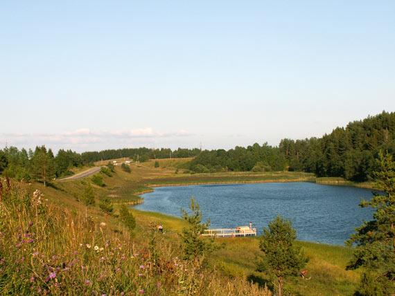 Виды Утецкого озера