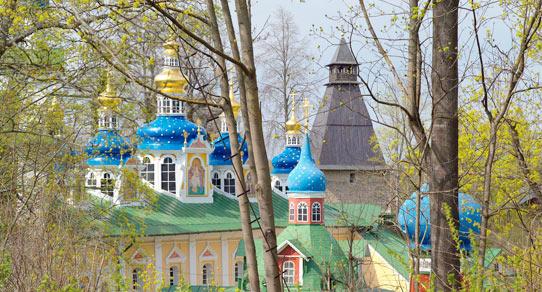 Псково-Печерский Свято-Успенский монастырь, Печоры Псковские