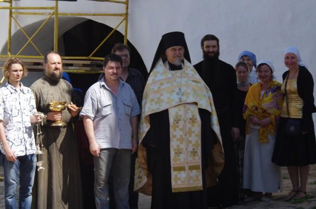 Мозаичные иконы Псково-Печерского монастыря (15)