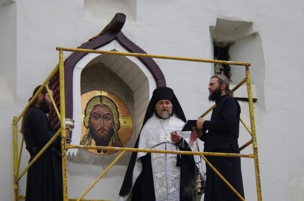 Мозаичные иконы Псково-Печерского монастыря (12)