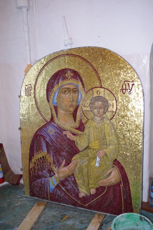 Мозаичные иконы Псково-Печерского монастыря (8)