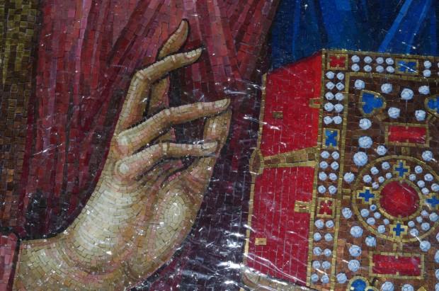 Мозаичные иконы Псково-Печерского монастыря (7)