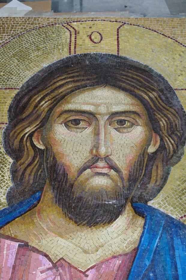 Мозаичные иконы Псково-Печерского монастыря (6)
