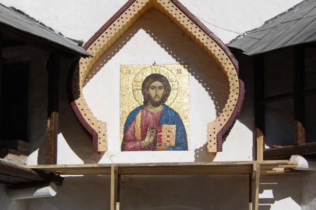Мозаичные иконы Псково-Печерского монастыря (5)