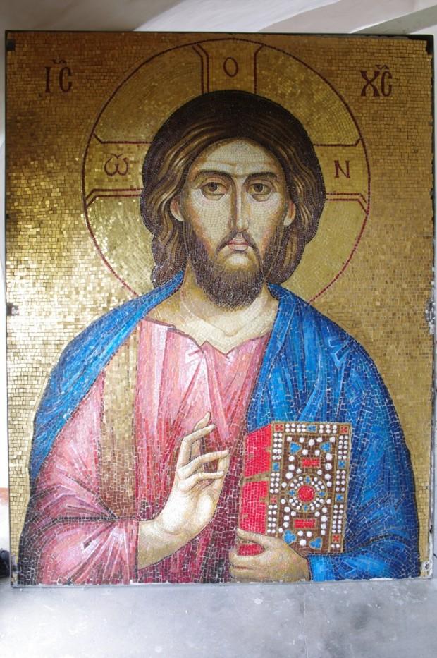 Мозаичные иконы Псково-Печерского монастыря (4)