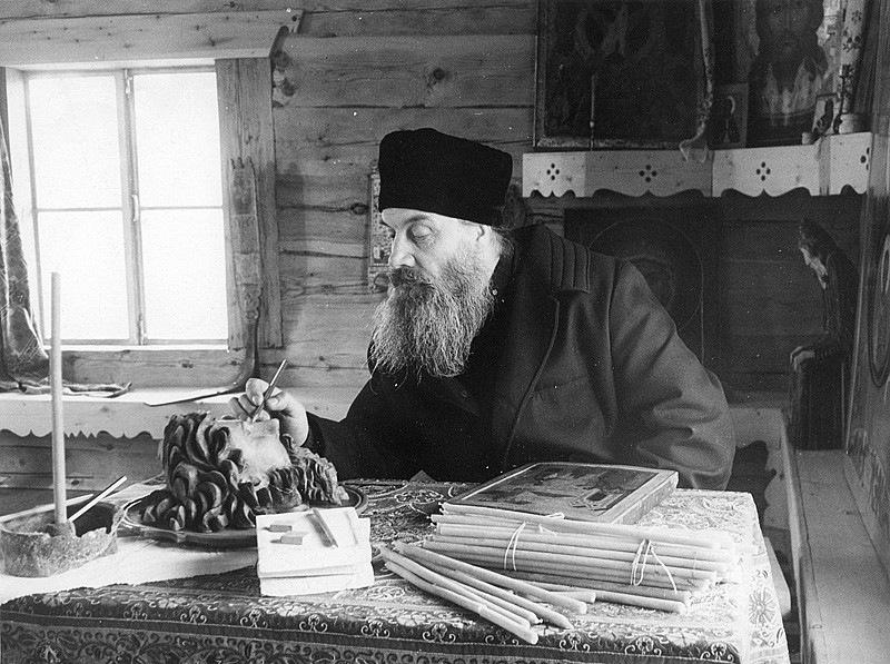 Архимандрит Алипий (Воронов), наместник Псково-Печерского монастыря