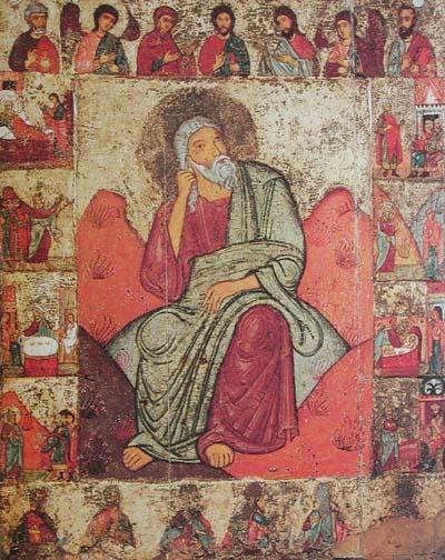 Илья Пророк с житием