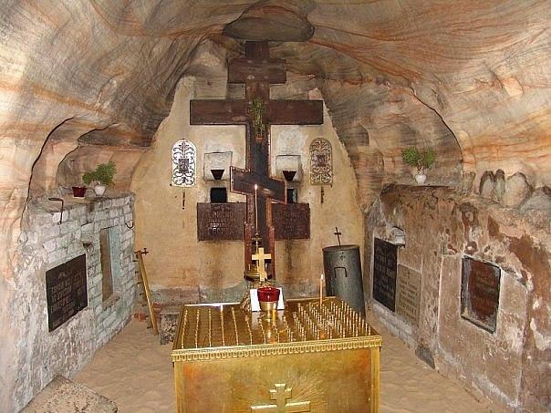 Рассказ о.Нафанаила (Поспелова) о Богом зданных пещерах (3)