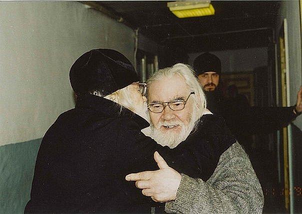Два старца Иоанн Крестьянкин и Андриан Кирсанов